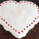 Szív alakú torta készítése forma nélkül