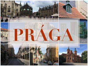 Prága képeslap
