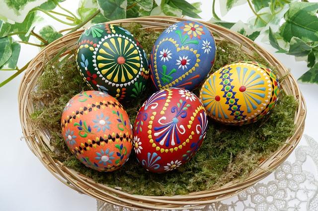 húsvéti tojásfestés ötletek