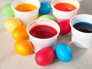 tojásfestés tojásfestékkel