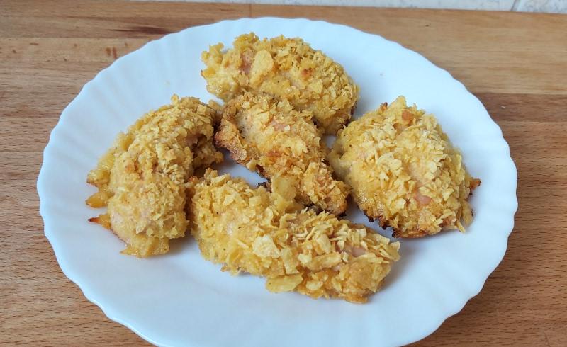 cornflakes csirkemell