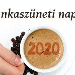 munkaszüneti napok 2020