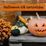 halloween tök tartósítása