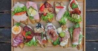 szendvics díszítés tippek