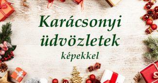 karácsonyi üdvözletek képekkel