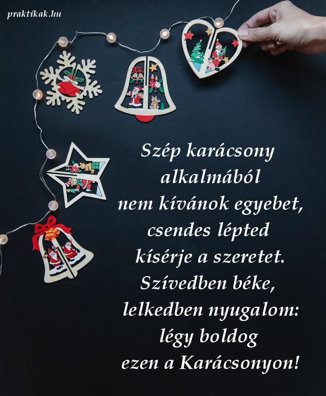 különleges karácsonyi üdvözlet, szép karácsony