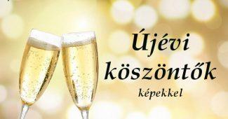 újévi köszöntők képekkel